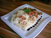 Puten-Zucchini-Pfanne, süss-sauer - Rezept