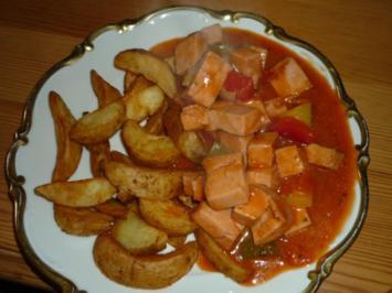 Rezept: Leberkäs auf Zigeunerart