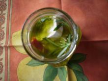 Ziegenkäse in Öl - Rezept