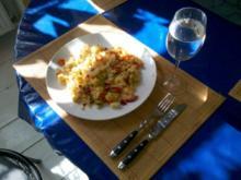 Fisch: Garnelenpfanne - Rezept
