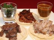 Dreierlei Tacos - Rezept