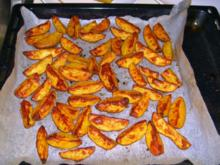 Potatoe Wedges - Rezept