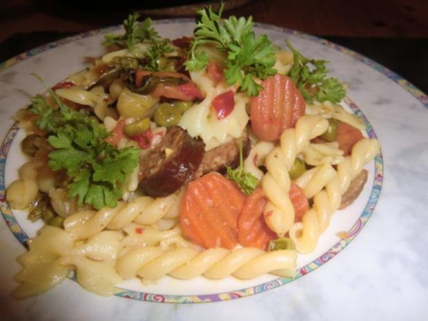 Nudel - Gemüsepfanne - Rezept - Bild Nr. 4