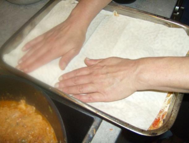 Türkische Lasagne - Rezept - Bild Nr. 8