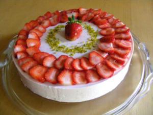 Erdbeer-Quark-Torte - Rezept