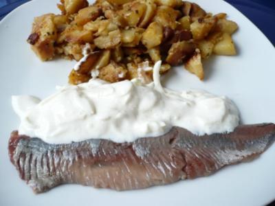 Matjes nach Hausfrauenart - Rezept