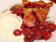 Hausgemachter Cherry Pie a la mode - Rezept