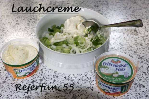 Lauchcreme aus Frischkäse - Rezept - Bild Nr. 2