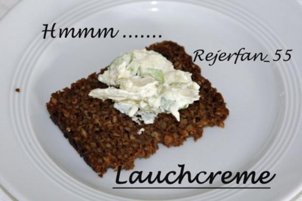 Lauchcreme aus Frischkäse - Rezept