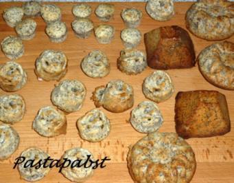 49 mohn muffins mit mohnback rezepte. Black Bedroom Furniture Sets. Home Design Ideas