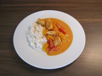 Hühner-Geschnetzeltes mit Paprika - Rezept