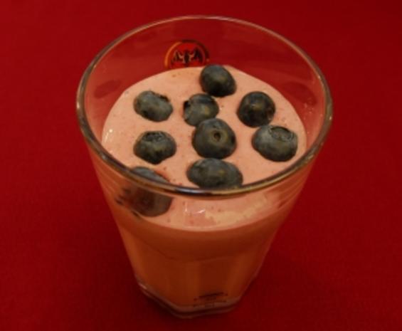Selbst gepflückte Himbeeren mit Eis (Nadja Abd El Farrag) - Rezept