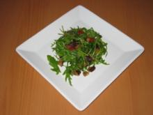 Auberginensalat mit Rucola - Rezept