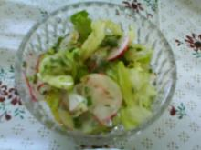 Sommerfrischer Gartensalat - Rezept