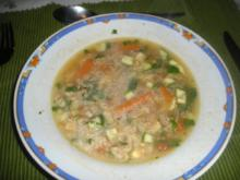 Tomaten-Hähnchen-Suppe - Rezept