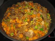 Leicht verschärftes Gyros-Reis-Pfännchen - Rezept