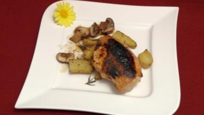 Hühnerbrust mit Tapenade-Füllung - Rezept