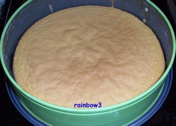 Backen: Dreifarbige Geburtstags-Buttercreme-Torte - Rezept - Bild Nr. 3