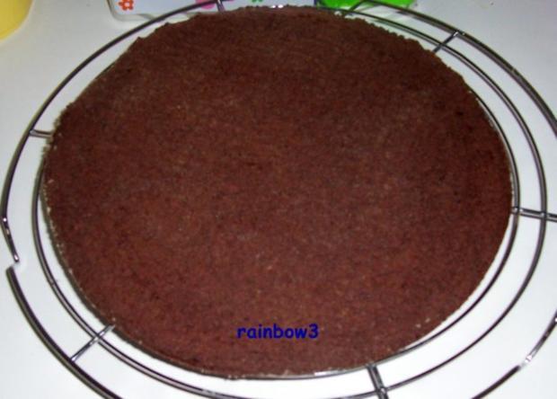 Backen: Dreifarbige Geburtstags-Buttercreme-Torte - Rezept - Bild Nr. 7