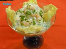 Shrimps Joghurt Kaltschale - Rezept