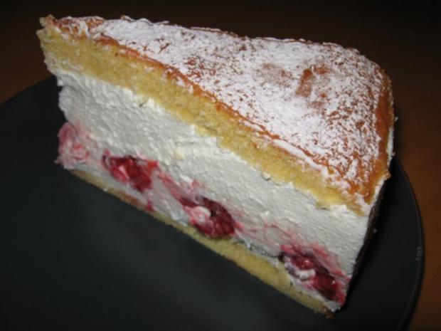 Leichte Himbeer Quark Sahne Torte Rezept Kochbar De