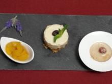 Mokka-Mousse mit Aprikosenconfit - Rezept