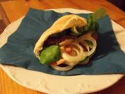Pita Burger - Rezept