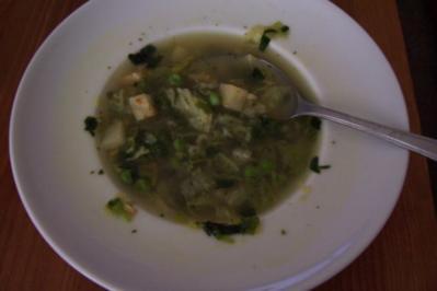 Schnelle Gemüse-Suppe - Rezept