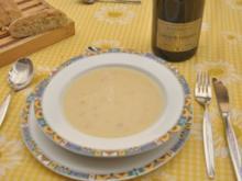 Spargel-Champagner-Cremesüppchen - Rezept