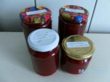 Süßkirschenmarmelade mit Amaretto - Rezept