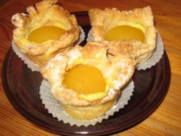 Schnelle Puddingtörtchen - Rezept
