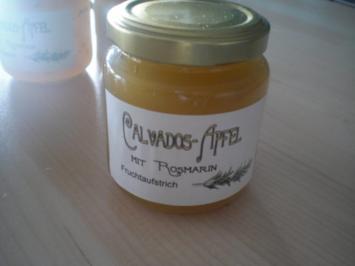 Calvados-Apfel mir Rosmarin - FRUCHTAUFSTRICH - Rezept