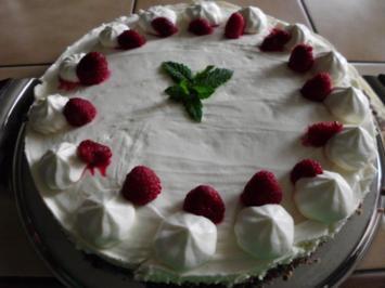 Himbeer-Frischkäse-Torte - Rezept