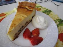 allerbester Käsekuchen mit Brandteig - Rezept