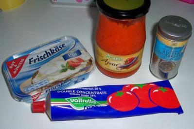 Zwischensnack: Käse-Schinken-Baguette, überbacken - Rezept