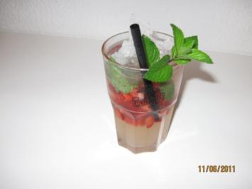 Erdbeer - Mojito - Rezept