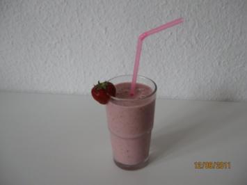 Erdbeer - Energie - Shake - Rezept