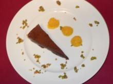 Mango-Sorbet und Schokoladentarte (Ruth Moschner) - Rezept