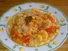 Würzige Tomaten-Pasta - Rezept