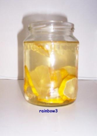 Gewürz: Zitronen-Knoblauch-Essig - Rezept