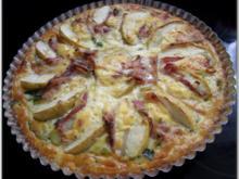 Porree-Apfel-Quiche - Rezept