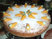 Karottentorte - Rezept