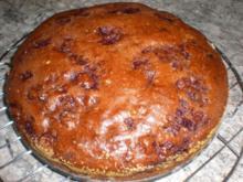 Schoko-Kirsch-Kuchen Yvonne - Rezept