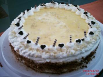 Eierlikör-Torte - Rezept
