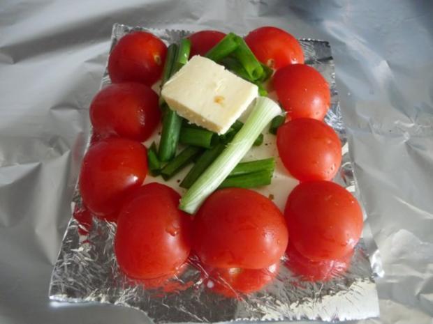 Grillen : Fetakäse vom Grill mit Baguett - Rezept - Bild Nr. 4