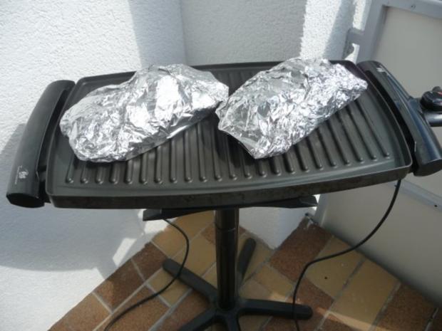 Grillen : Fetakäse vom Grill mit Baguett - Rezept - Bild Nr. 5