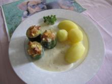 Gefüllte Zucchini - Rezept