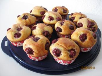 Rezept: Quark - Kirsch Muffins