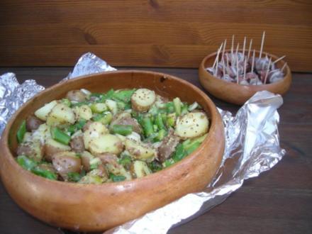 Frühlingssalat mit jungen Karoffeln - Rezept