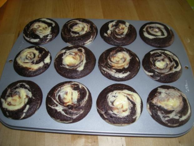 Black Bottom Cupcake - Rezept - Bild Nr. 2